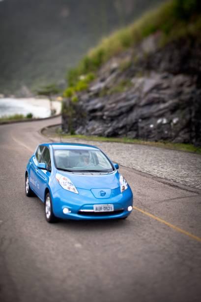 O carro elétrico em ação: força para subidas