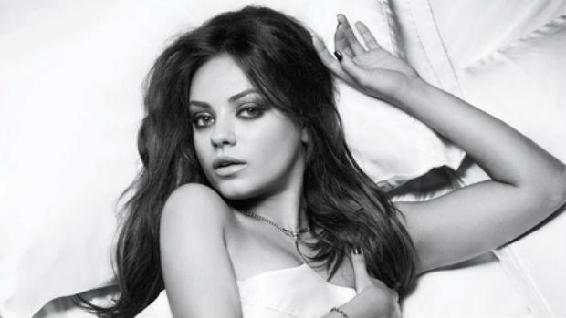 A atriz Mila Kunis, eleita pela revista Esquire a mulher mais sexy do mundo