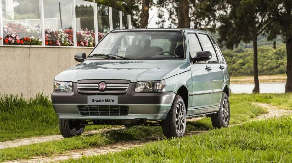 O Fiat Grazie Mille, versão de despedida do modelo: 31.200 reais