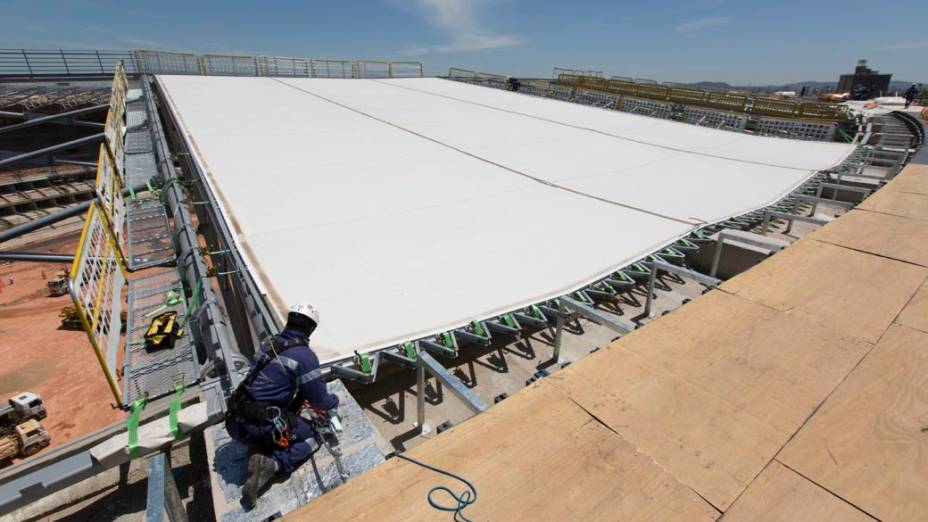Mineirão: as obras em outubro de 2012
