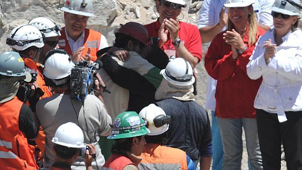 Resgate do mineiro Daniel Herrera