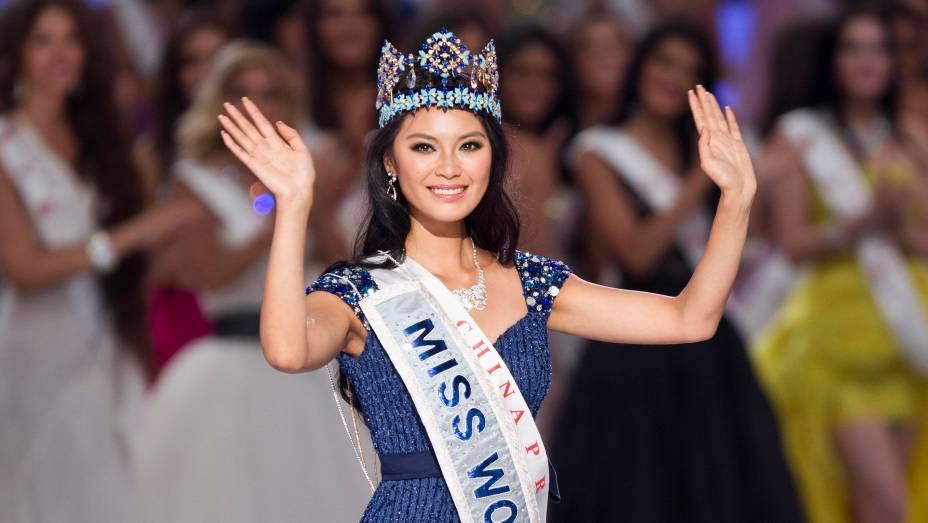 Chinesa Yu Wenxia é coroada Miss Mundo 2012 em concurso
