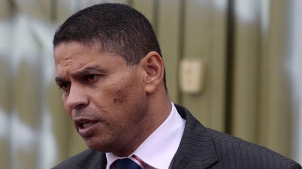 O advogado e ex-policial militar Mizael Bispo de Souza, acusado de matar a ex-namorada Mércia Nakashima
