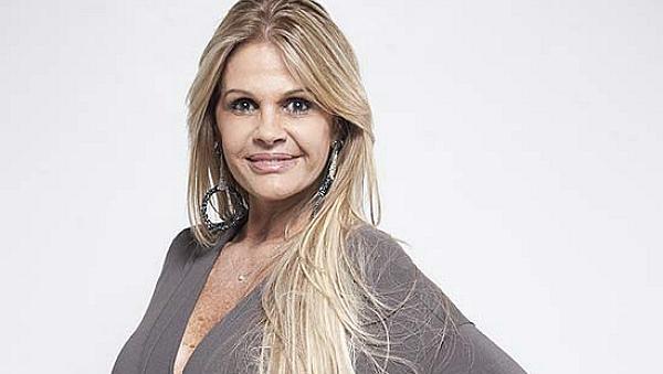 Monique Evans, 54 anos, apresentadora