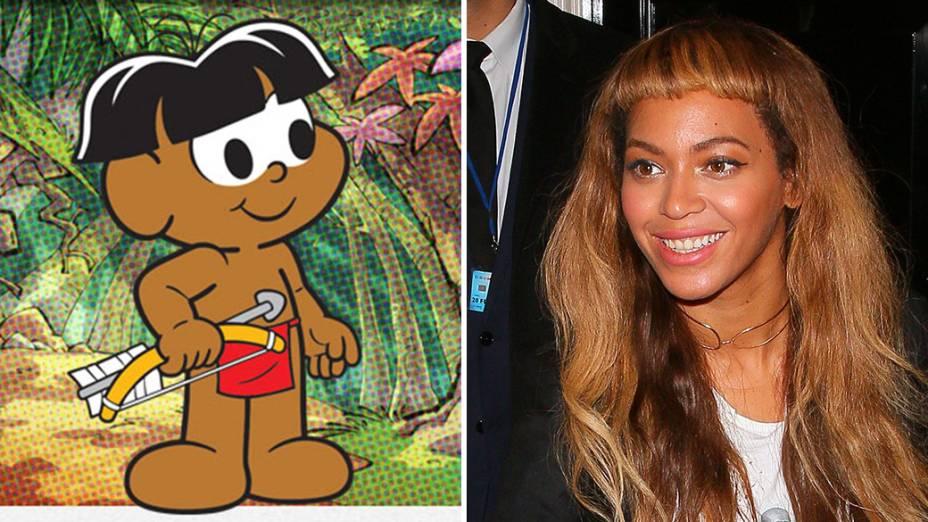 Beyonce e Papa-Capim