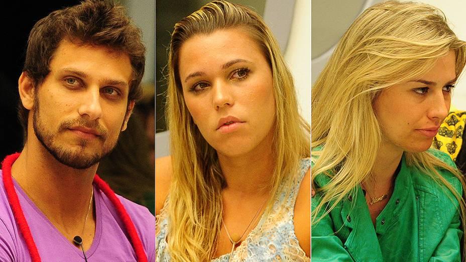 Eliéser, Marien e Fernanda se enfrentam no quinto paredão do BBB 13