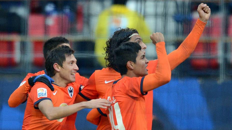 Monterrey e Ulsan Hyundai durante partida válida pela Copa Mundial de Clubes 2012