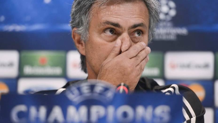 José Mourinho, técnico do Real, após jogo com City