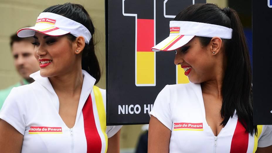 As mulheres no GP do Brasil, em São Paulo, nas arquibancadas e nos boxes