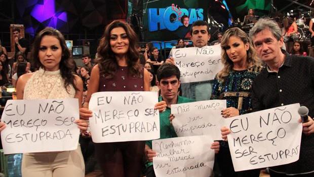 Globais aderem a campanha idealizada por Nana Queiroz