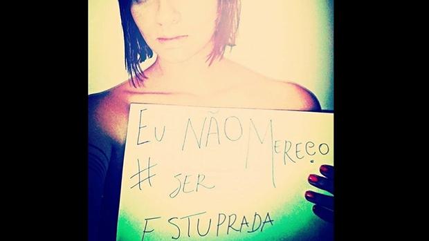 Internautas aderem à campanha idealizada por Nana Queiroz