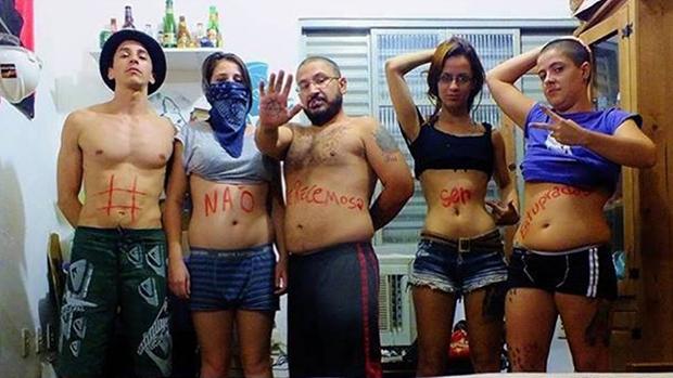 Usuários de redes sociais participam da campanha Eu não mereço ser estuprada