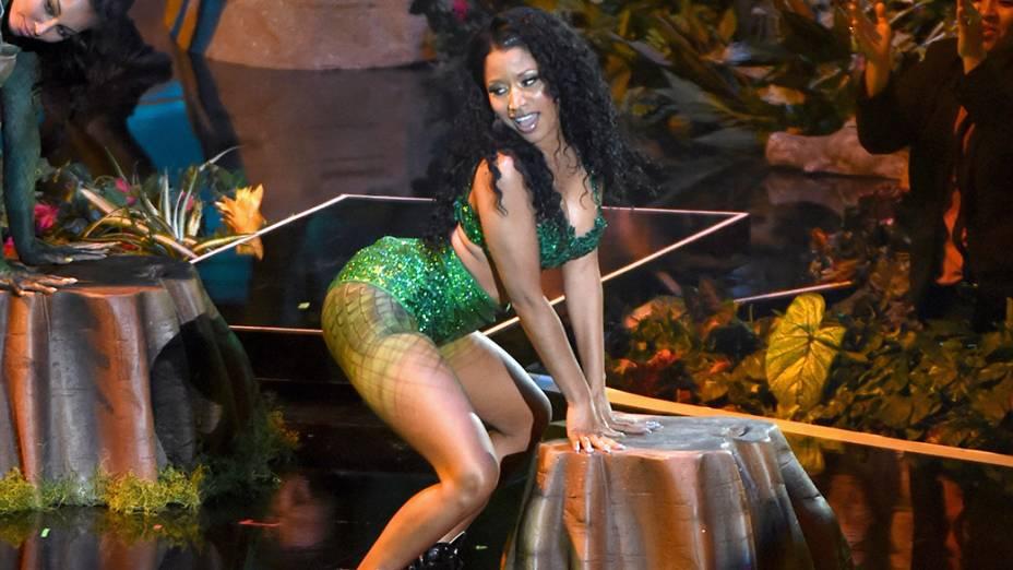 Nicki Minaj durante o MTV Video Music Awards 2014
