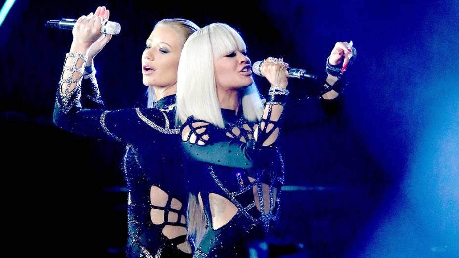 Iggy Azalea e  Rita Ora no VMA 2014