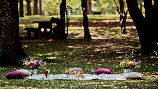 Piquenique promovido para as Mulheres Ricas, no Parque do Ibirapuera, em São Paulo