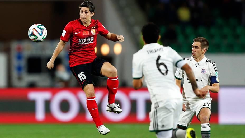 O Bayern de Munique venceu o Guangzhou Evergrande por 3 a 0