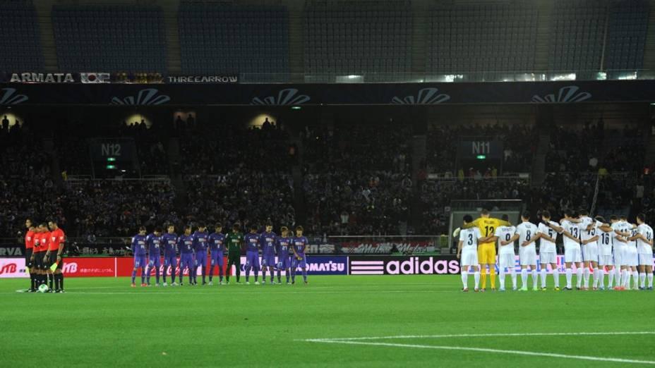 Auckland City x Sanfrecce Hiroshima, partida de abertura do Mundial de Clubes da Fifa 2012
