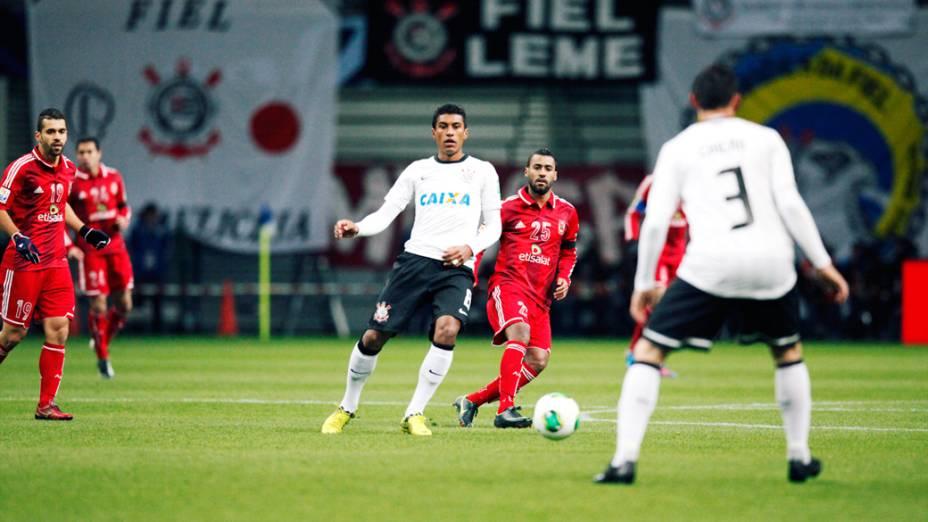 Corinthians enfrenta o Al Ahly pela semifinal do Mundial de Clubes da Fifa em Toyota