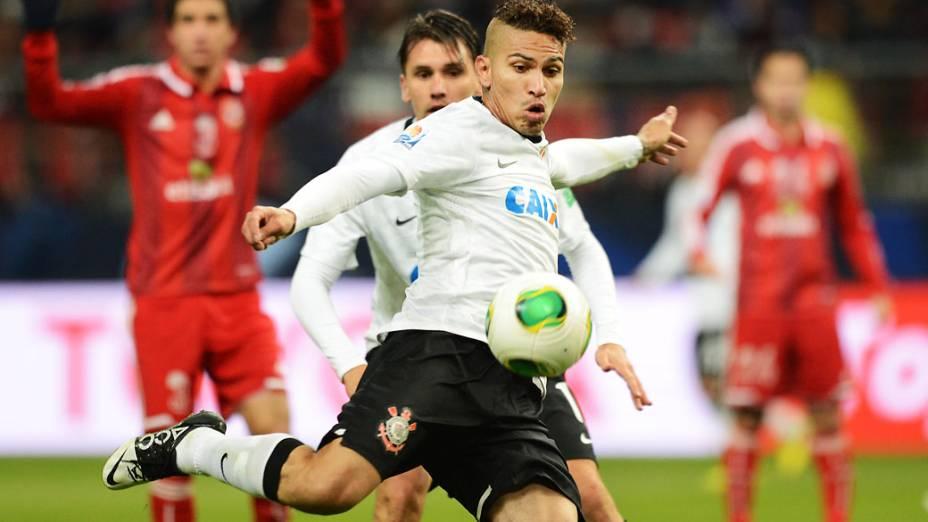Paolo Guerrero marcou o gol da vitória do Corinthians sobre o Al Ahly pela semifinal do Mundial de Clubes da Fifa em Toyota