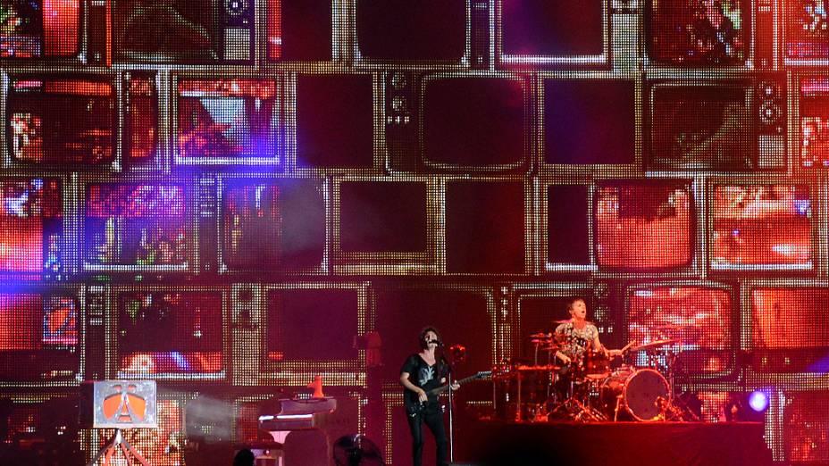 Apresentação do Muse no segundo dia do Rock in Rio 2013