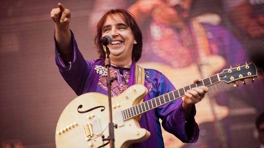 Show de Mutantes e Tom Zé no palco Sunset, no último dia do Rock in Rio, em 02/10/2011