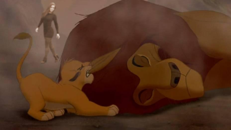 Morte do Mufasa, Rei Leão (1994)