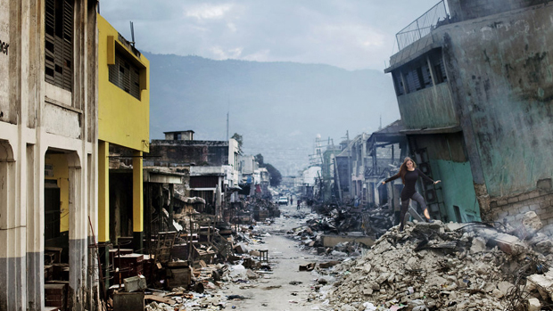 No terremoto do Haiti