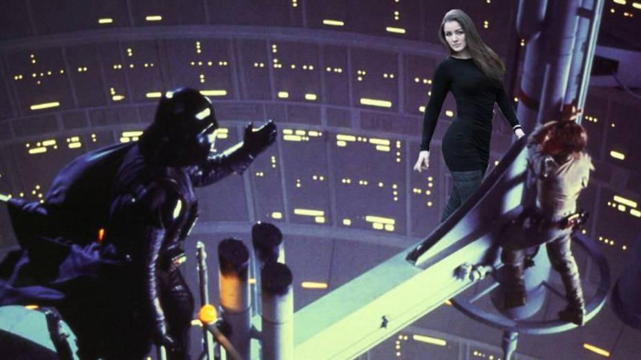 No filme Star Wars