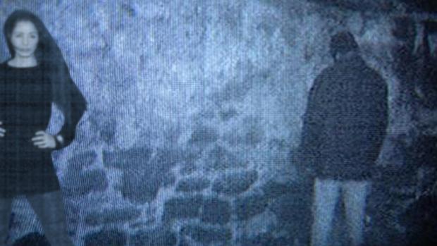 Na cena final de A Bruxa de Blair (1999)