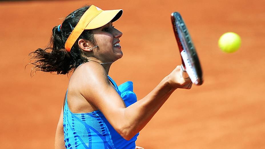 Nastassja Burnett durante o Rio Open 2014