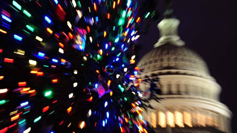 Decoração de Natal em Washington, Estados Unidos