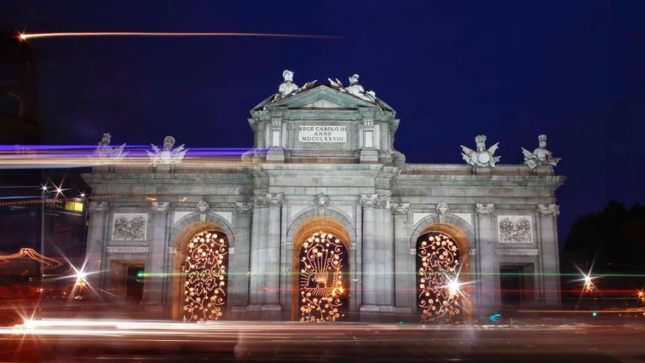 Decoração de Natal em Madri, Espanha