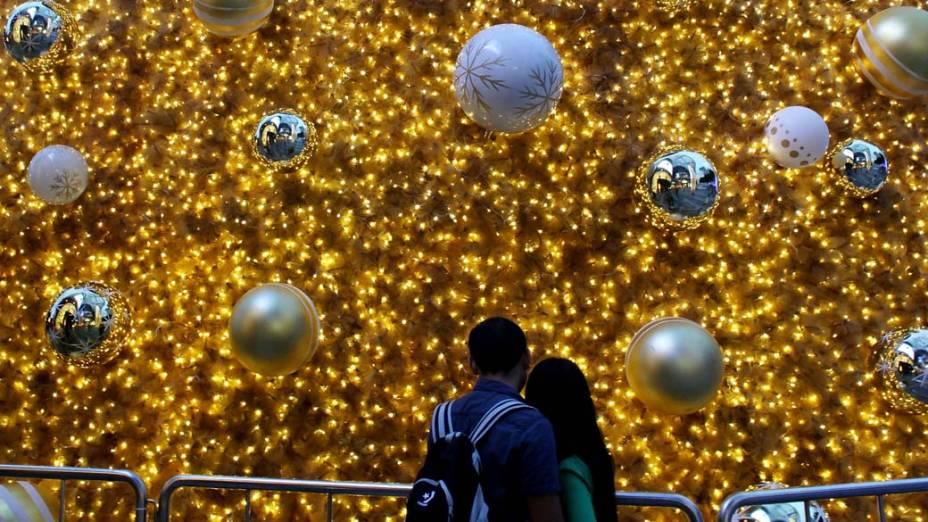 Decoração de Natal em Singapura