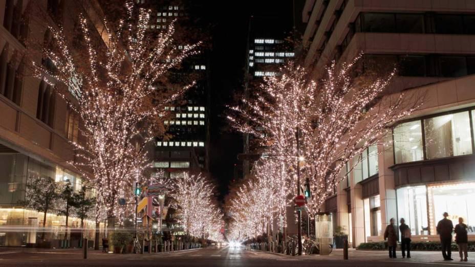 Decoração de Natal em Tóquio, Japão