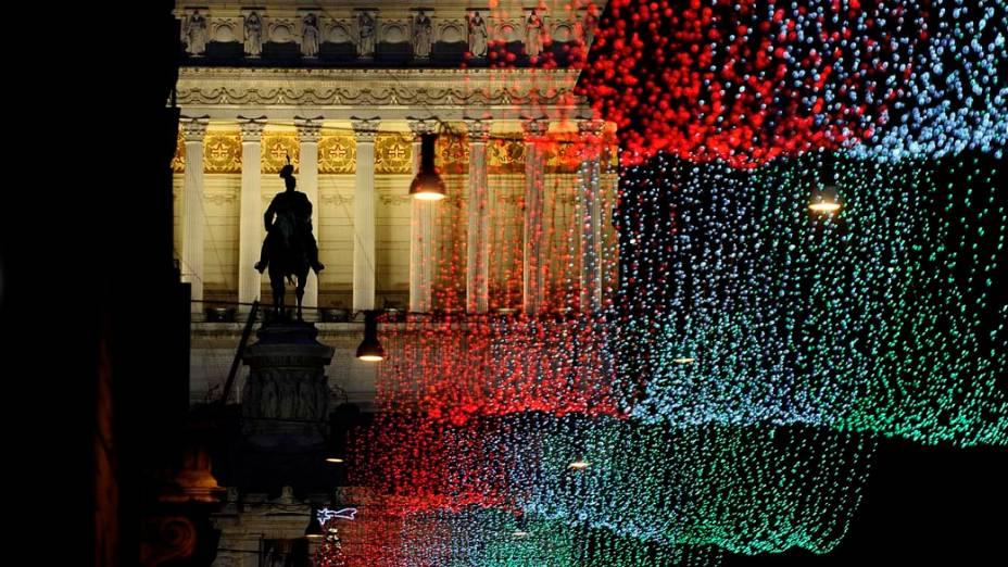 Decoração de Natal em Roma, Itália