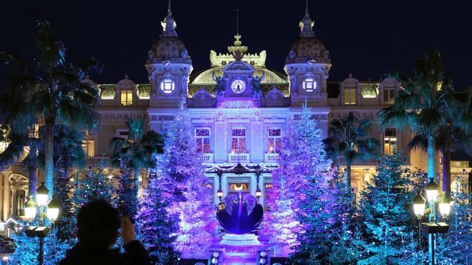 Decoração de Natal do Cassino de Monte Carlo, Mônaco