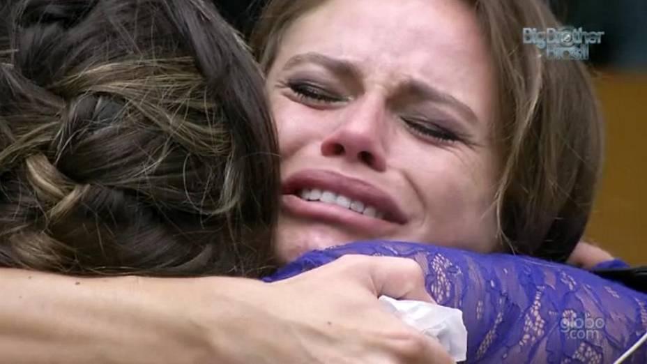 Natália chora a indicação de Anamara ao 2º paredão do BBB 13