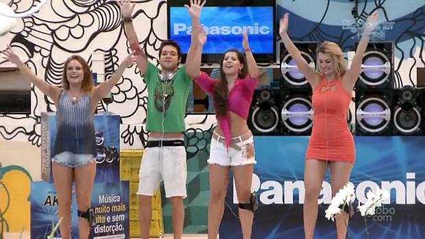 Natália, Nasser, Andressa e Fernanda sobrevivem ao BBB13