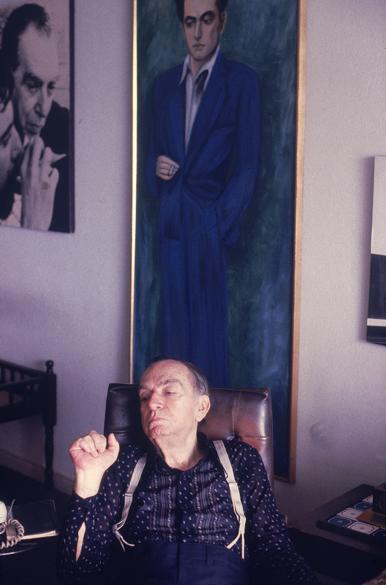 O escritor Nelson Rodrigues, em 1980