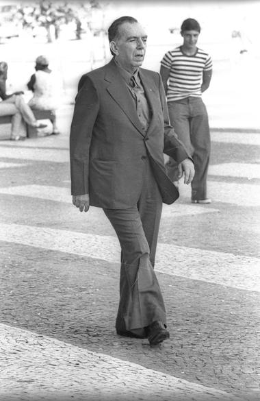 Nelson Rodrigues no Rio de Janeiro, em 1976