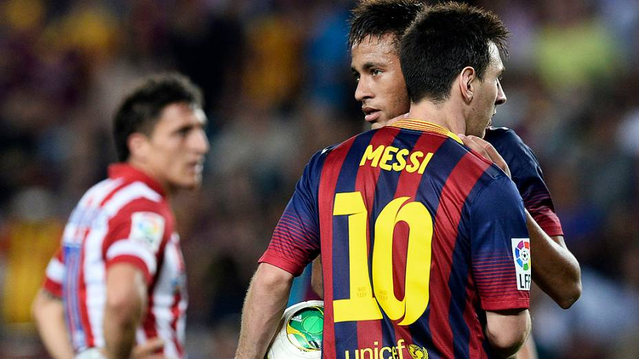 Com Neymar titular, Barcelona empata e é campeão da Supercopa da Espanha, nesta quarta-feira (28)