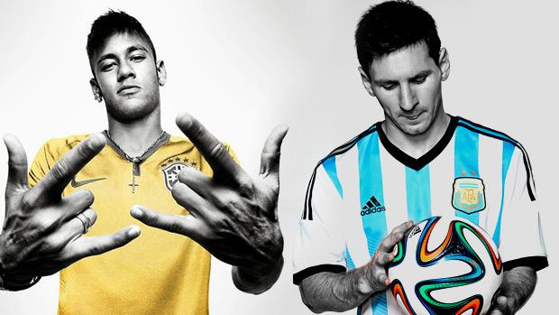Nike x Adidas: Neymar e a seleção brasileira estão com a gigante americana, Messi e a Adidas defendem a alemã líder de mercado