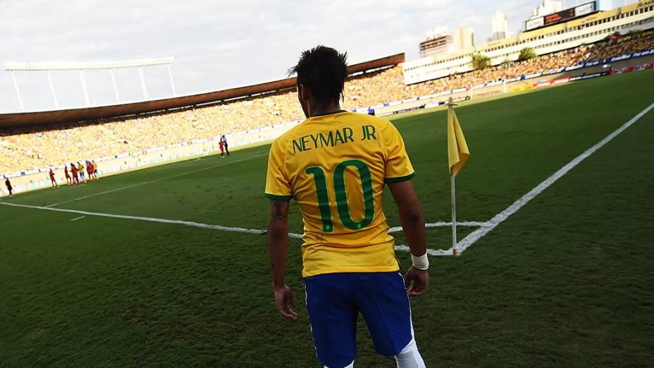 No penúltimo amistoso da Seleção, antes da estreia na Copa, Neymar foi o destaque na goleada contra o Panamá