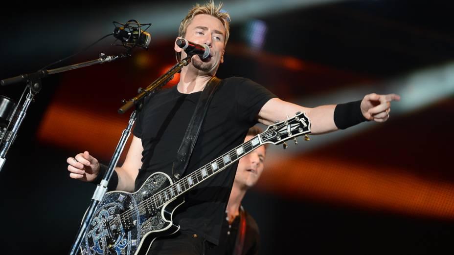 Show da banda Nickelback no Rock in Rio 2013