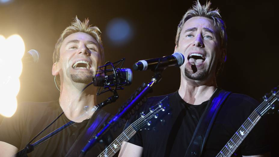 Show da banda Nickelback no Rock in Rio 2013