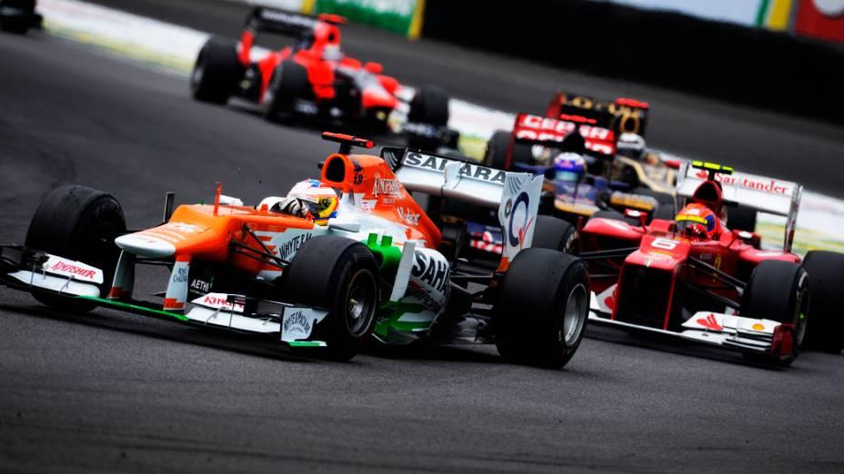 Nico Hulkenberg durante o GP do Brasil de Fórmula 1, em Interlagos