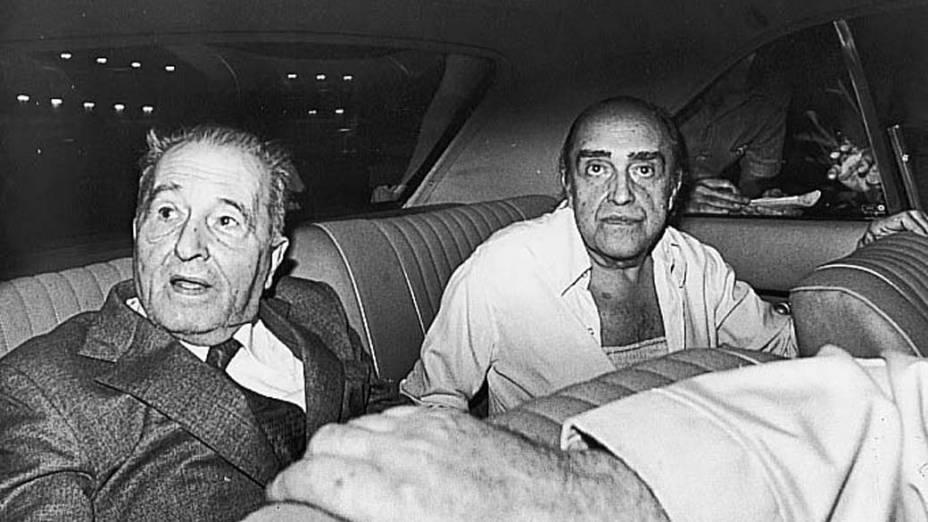 Carlos Prestes e Oscar Niemeyer