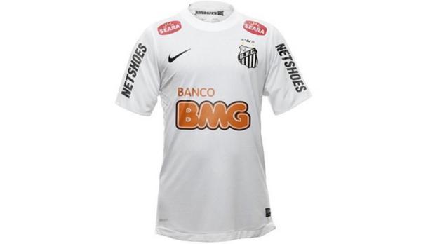 Nova camisa do Santos