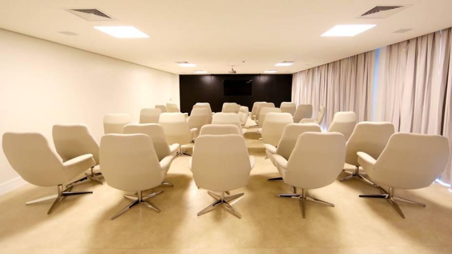Reforma na Granja Comary, concentração da seleção brasileira: sala de palestras