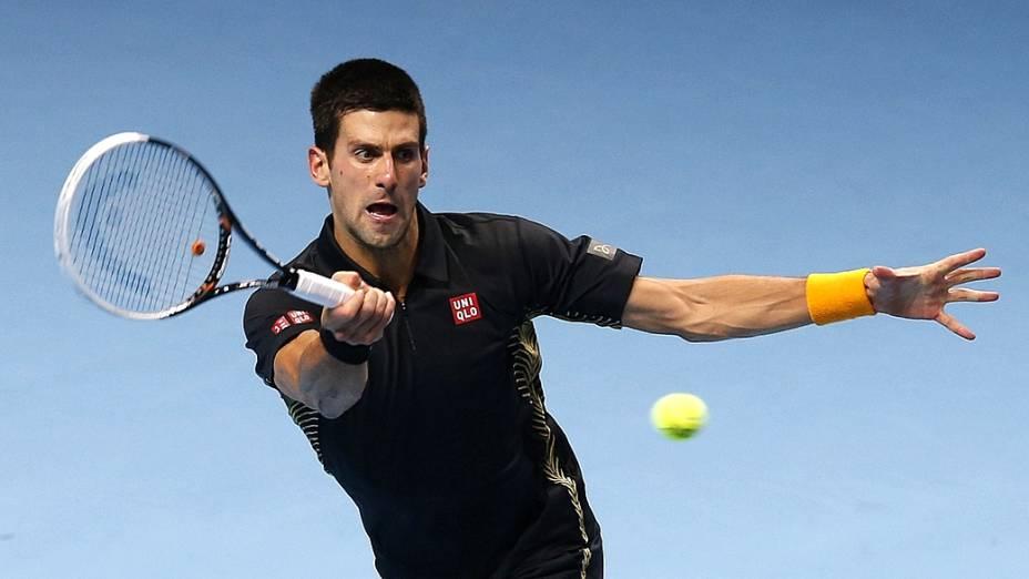Novak Djokovic, em busca de seu sexto título mundial em 2012